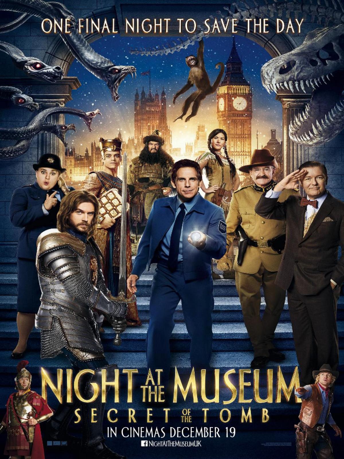 Nacht Im Museum 3 Trailer
