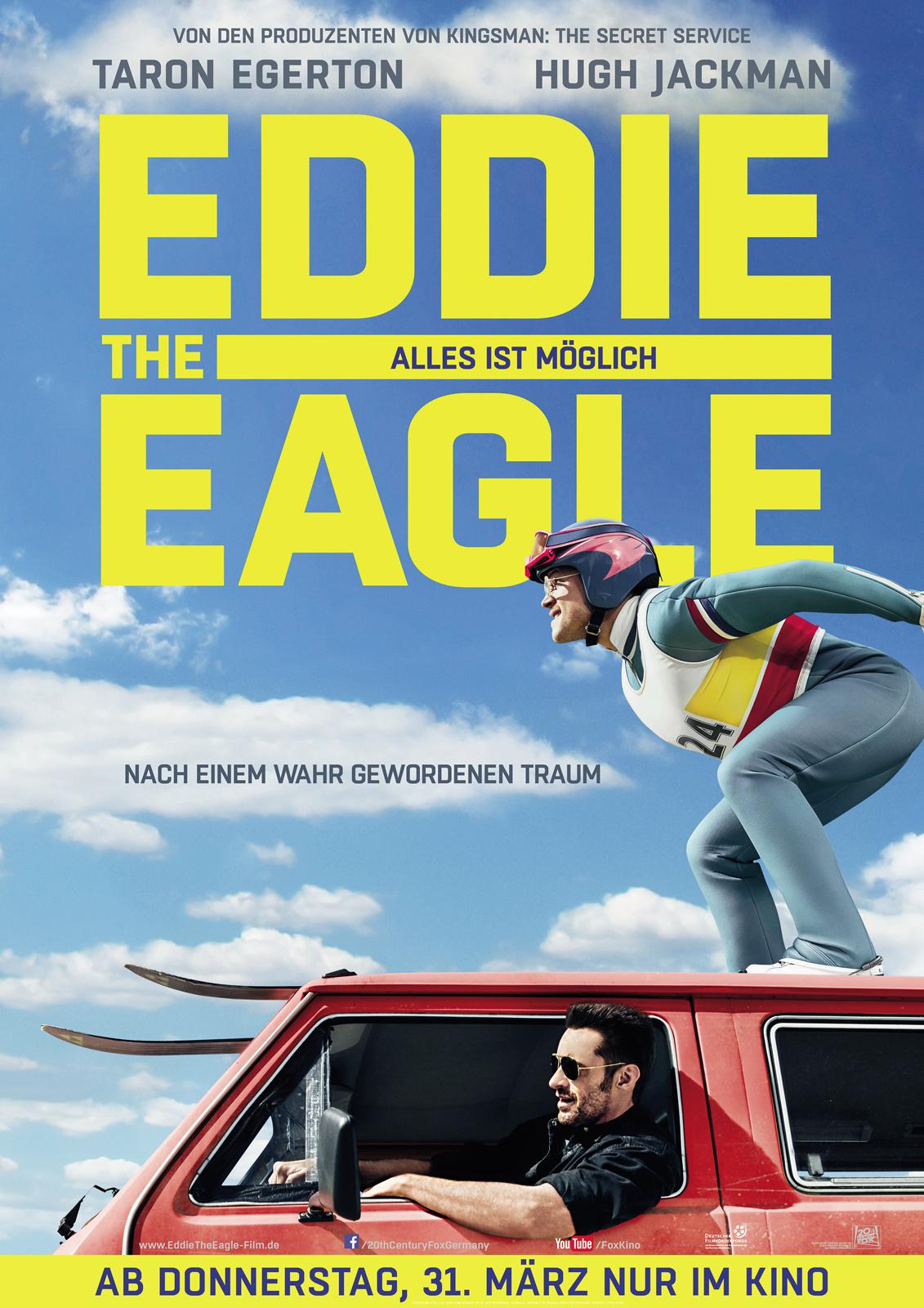 Eddie the Eagle - Alles ist möglich - Film 2016 - FILMSTARTS.de