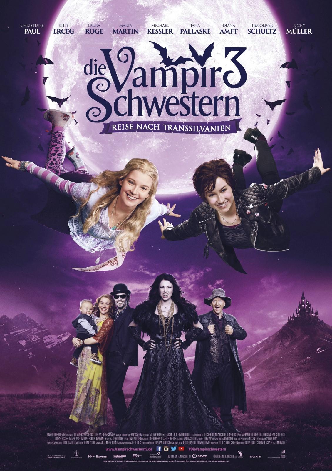 Die Vampirschwestern 3 Reise Nach Transsilvanien Film 2016 Filmstarts De