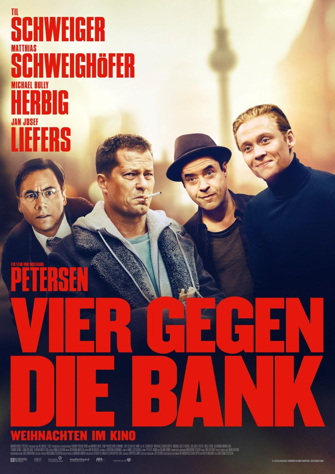 [好雷] 樂盜家 Vier gegen die Bank (2016 德國片)