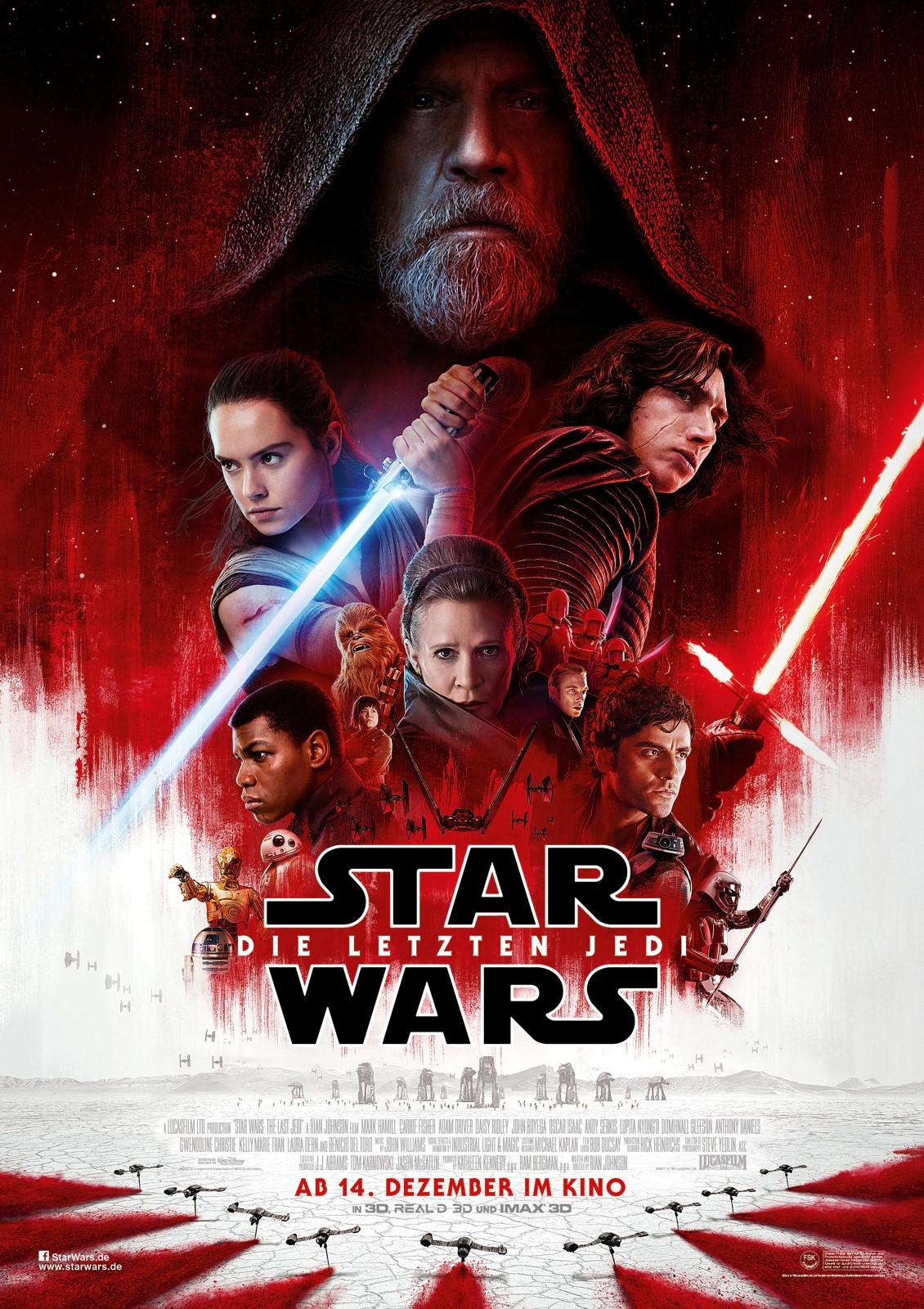 Star Wars 8 Die Letzten Jedi Film 2017 Filmstarts De