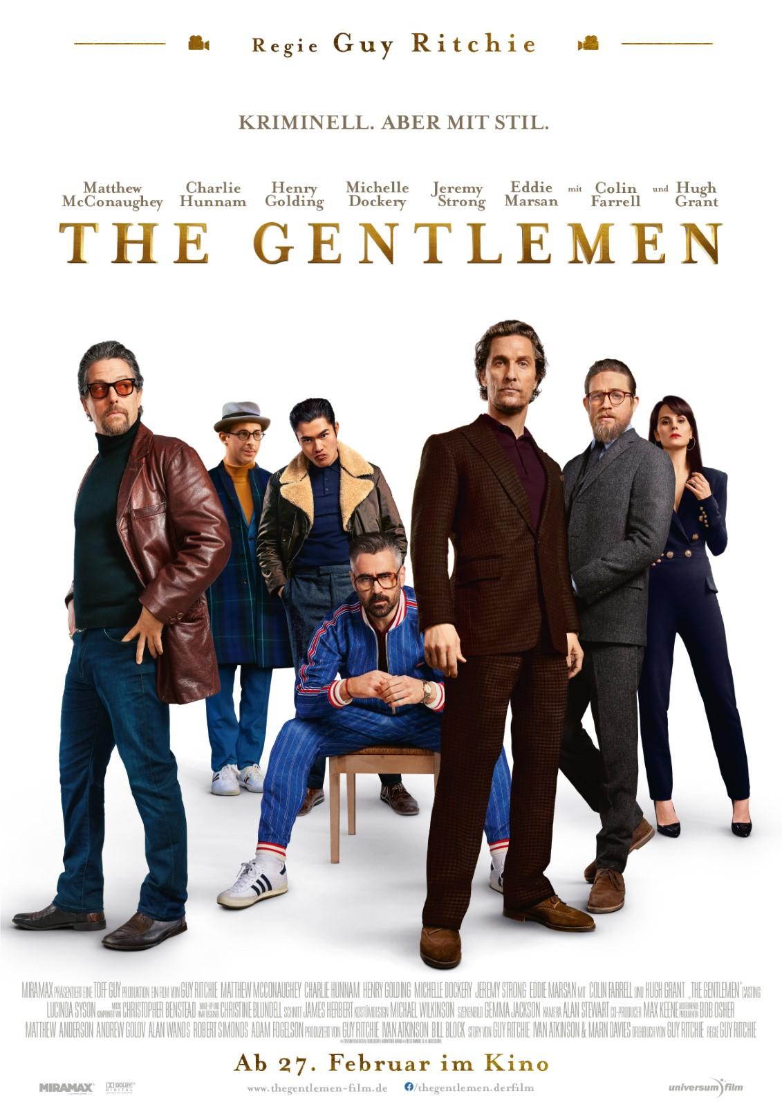 Review: The Gentlemen (Kino ...