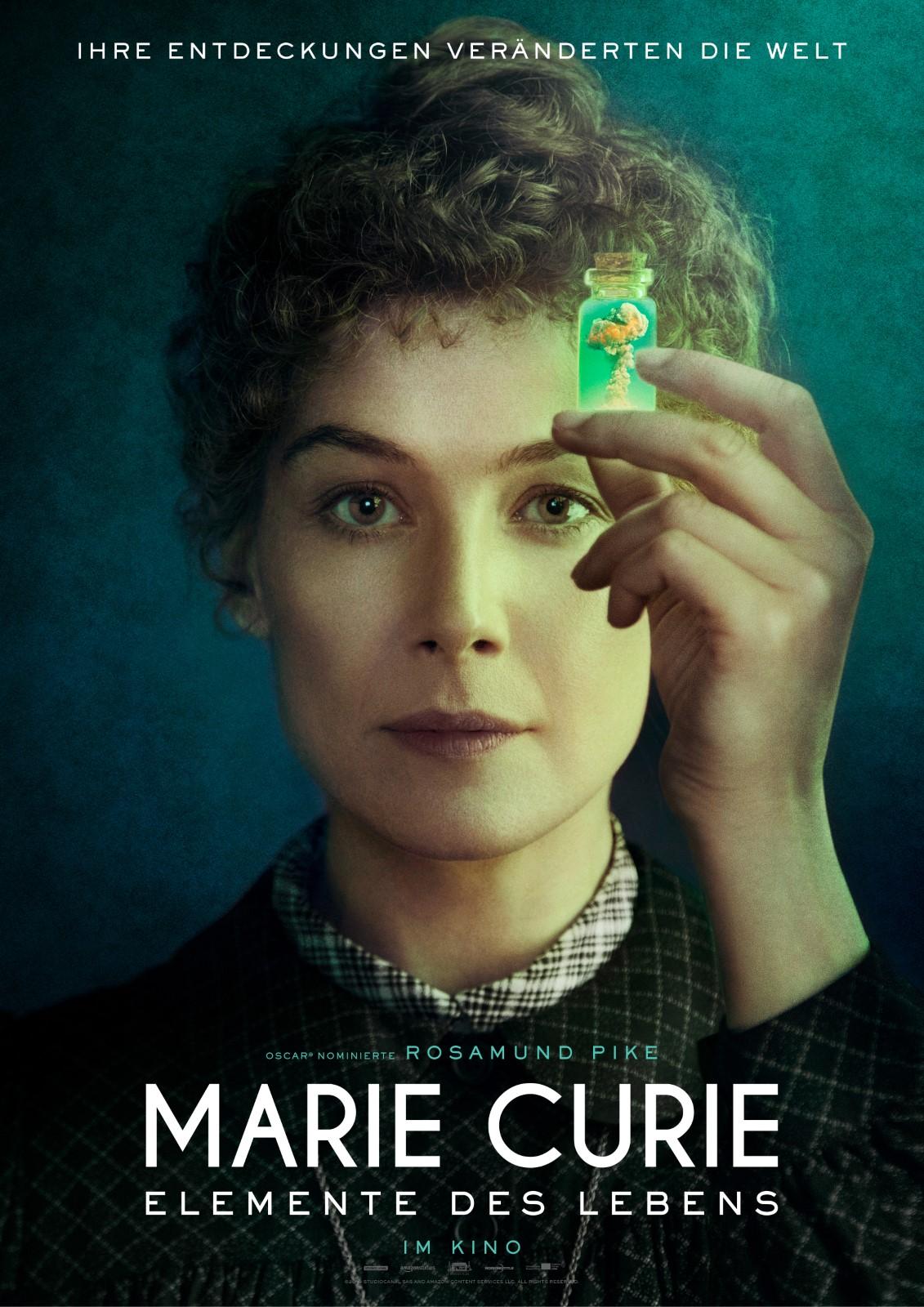 Poster Marie Curie - Elemente des Lebens