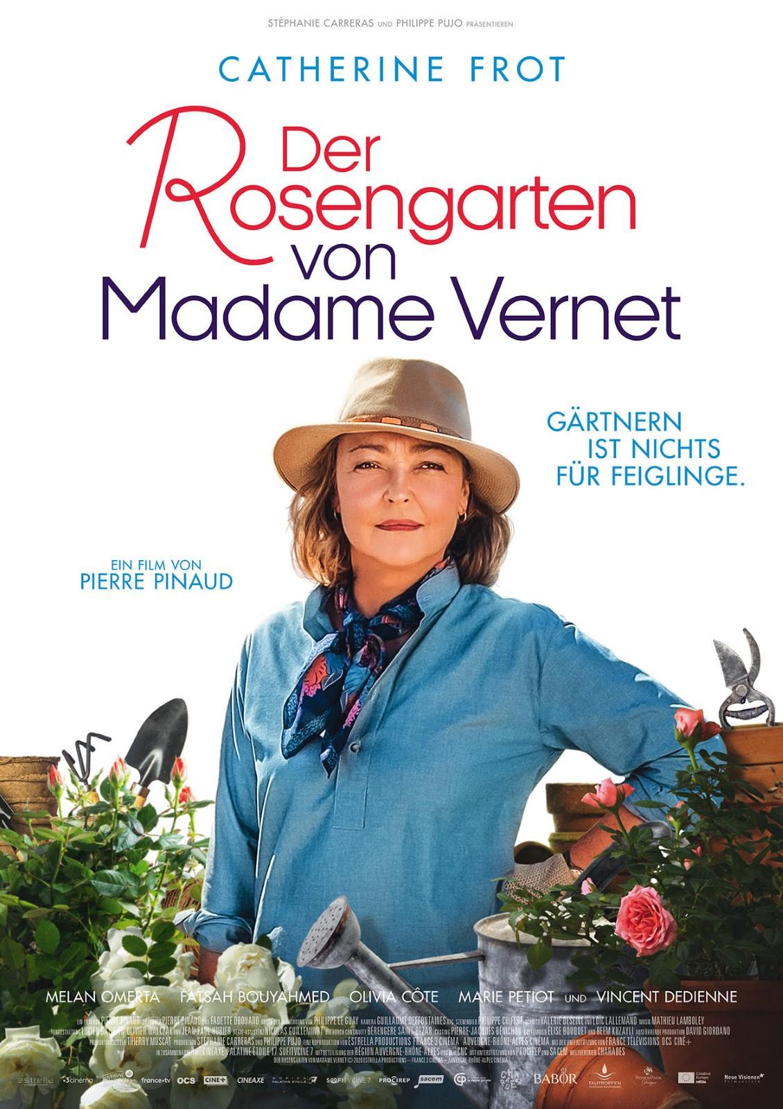 Poster Der Rosengarten von Madame Vernet