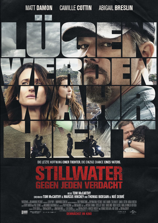 Poster Stillwater - Gegen jeden Verdacht