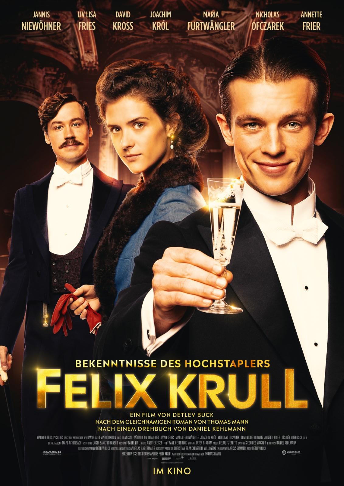 Poster Bekenntnisse des Hochstaplers Felix Krull