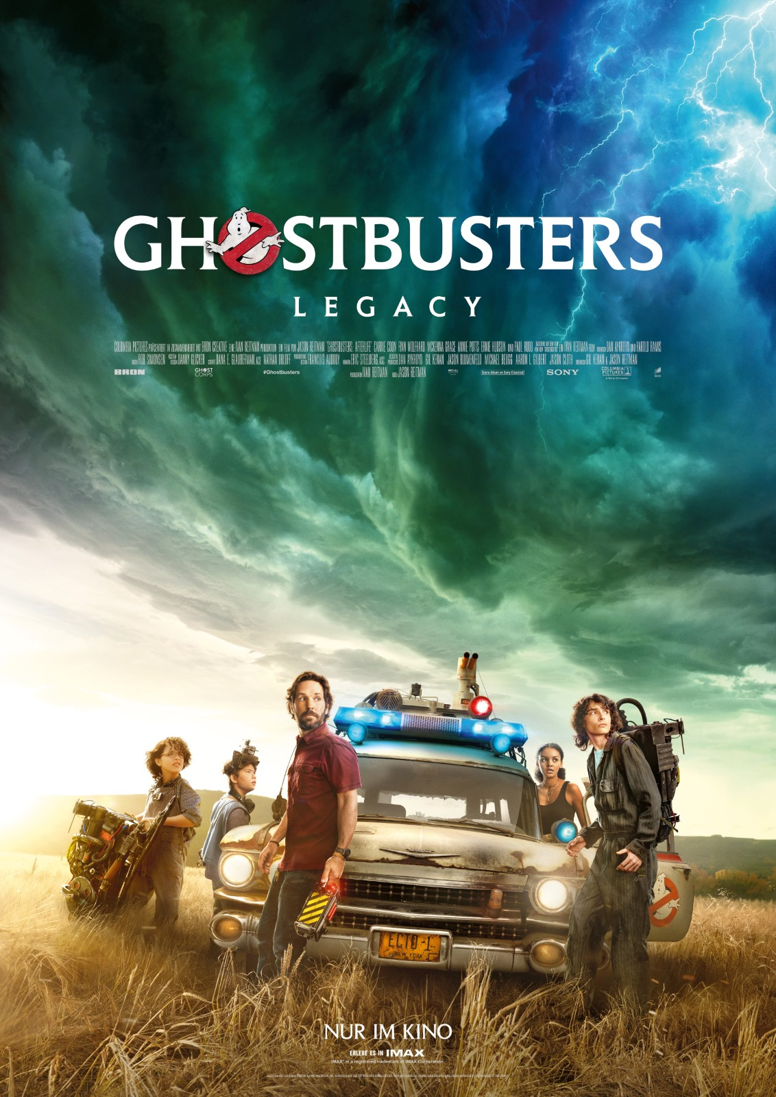 Poster Ghostbusters: Legacy