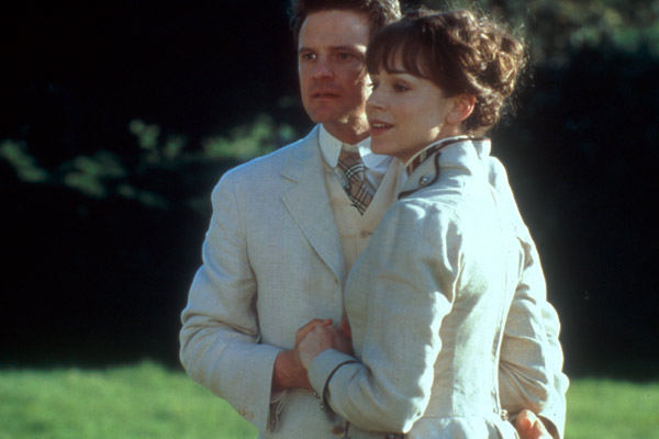 Ernst sein ist alles : Bild Colin Firth, Frances O'Connor