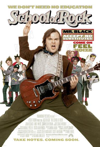 School of Rock: Joan Cusack, Jack Black