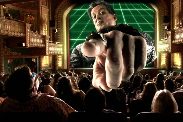 Mission 3D - Game Over: Sylvester Stallone