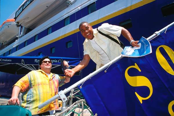 Boat Trip: Cuba Gooding Jr., Horatio Sanz