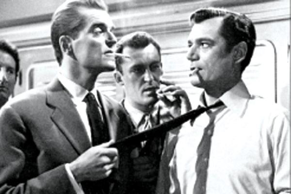 Bild Eddie Constantine, Howard Vernon, Maurice Ronet