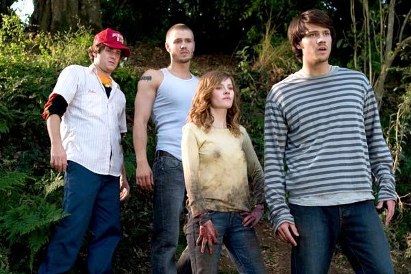 House of Wax : Bild Chad Michael Murray, Elisha Cuthbert, Jared Padalecki, Jon Abrahams
