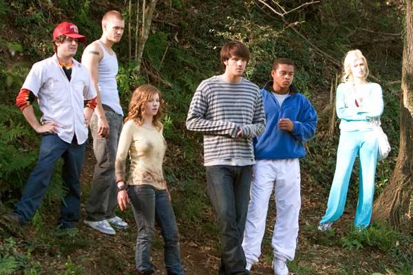 House of Wax : Bild Chad Michael Murray, Elisha Cuthbert, Jared Padalecki, Jon Abrahams, Paris Hilton