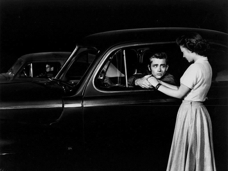 ...denn sie wissen nicht, was sie tun : Bild James Dean, Nicholas Ray