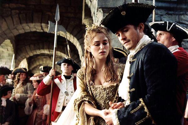 Pirates of the Caribbean - Fluch der Karibik 2 : Bild Keira Knightley, Orlando Bloom