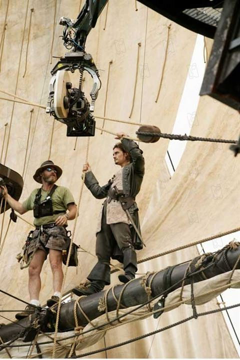 Pirates of the Caribbean - Fluch der Karibik 2 : Bild Gore Verbinski, Orlando Bloom