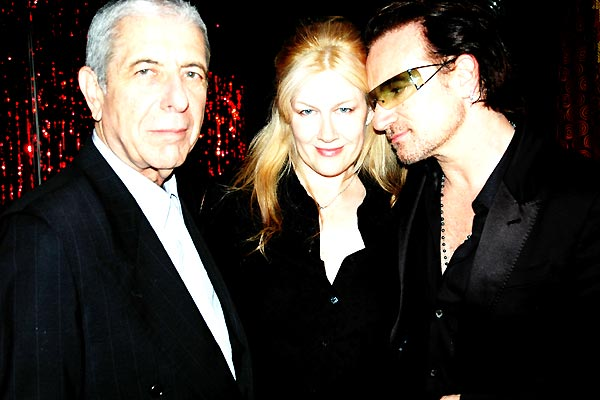 Leonard Cohen: I'm Your Man : Bild Bono, Leonard Cohen
