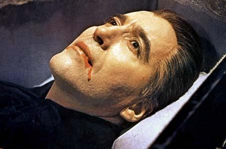 Blut für Dracula : Bild Christopher Lee, Terence Fisher