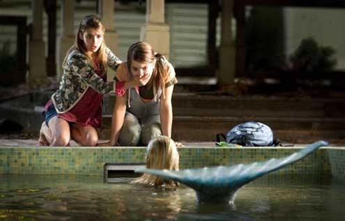 Aquamarin – Die vernixte erste Liebe : Bild Elizabeth Allen, Emma Roberts, Jojo, Sara Paxton