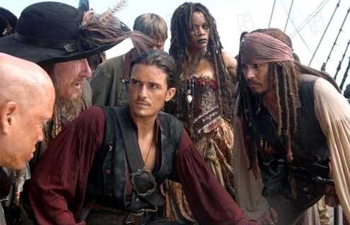 Pirates Of The Caribbean - Am Ende der Welt : Bild Johnny Depp, Orlando Bloom