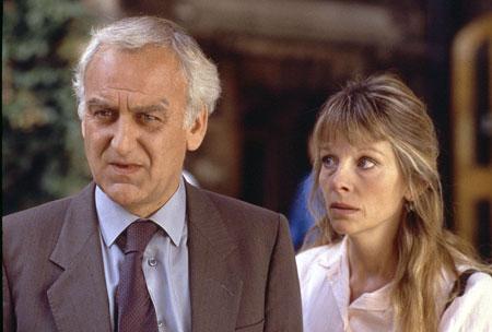 Inspektor Morse : Bild Clare Holman, John Thaw