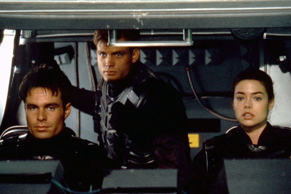 Starship Troopers : Bild Casper Van Dien, Denise Richards, Patrick Muldoon