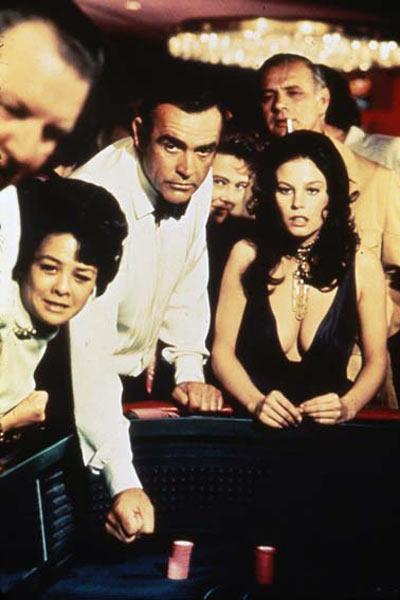 James Bond 007 - Diamantenfieber : Bild Lana Wood, Sean Connery