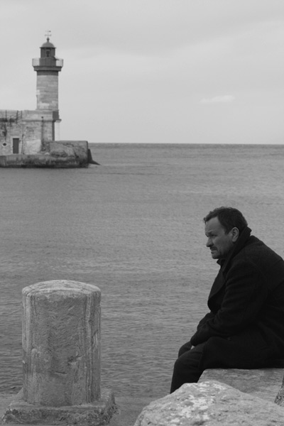 The Man From London : Bild Bela Tarr, Miroslav Krobot