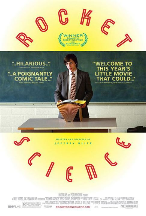 Rocket Science : Kinoposter Jeffrey Blitz, Reece Thompson