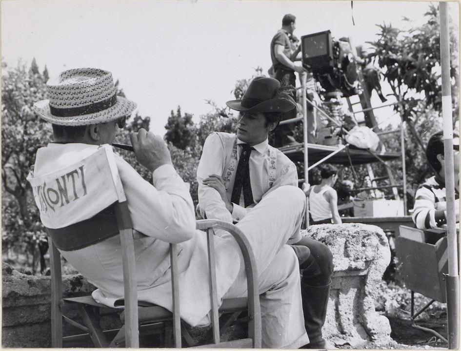 Der Leopard: Luchino Visconti, Alain Delon
