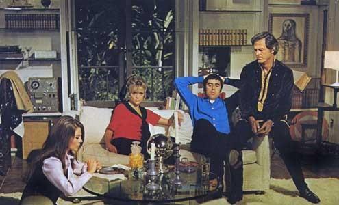 Bob & Caroline & Ted & Alice : Bild Dyan Cannon, Elliott Gould, Natalie Wood, Paul Mazursky, Robert Culp