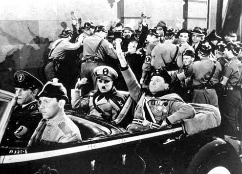 Der große Diktator: Jack Oakie, Charles Chaplin