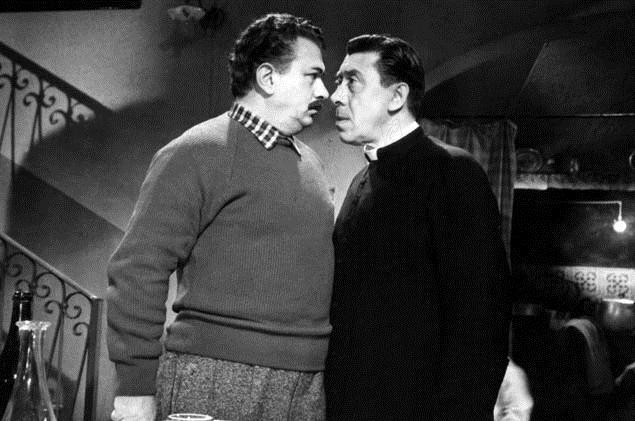 Don Camillos Rückkehr:  Fernandel, Gino Cervi