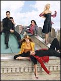 Dead Like Me - So gut wie tot : Bild Callum Blue, Ellen Muth, Jasmine Guy, Laura Harris, Mandy Patinkin