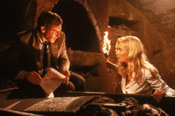 Indiana Jones und der letzte Kreuzzug: Alison Doody, Harrison Ford