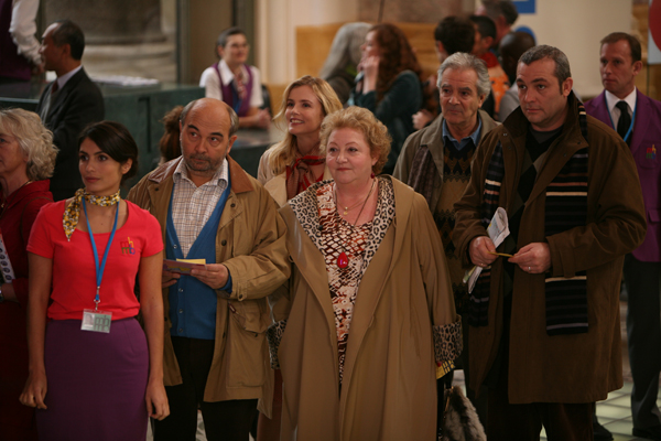 Bild Chantal Neuwirth, Gérard Jugnot, Isabelle Carré, Jean-Michel Ribes, Laurent Gamelon