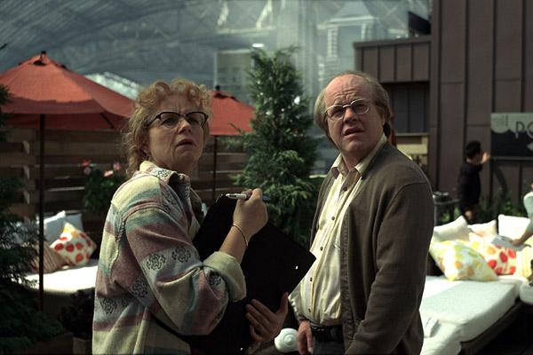 Synecdoche, New York: Philip Seymour Hoffman, Samantha Morton