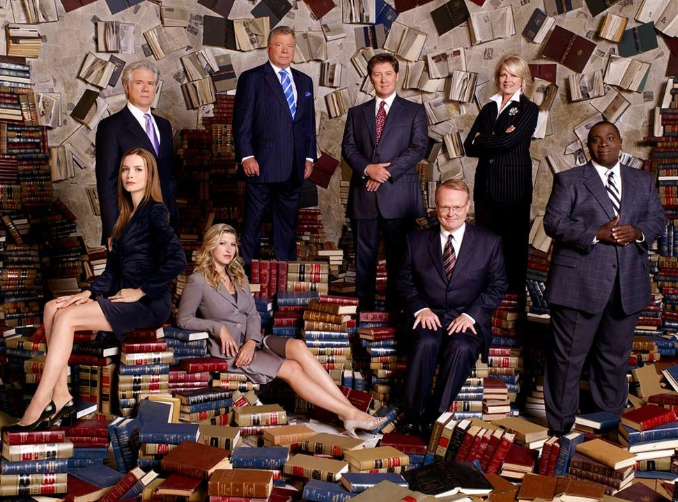 Boston Legal : Bild Candice Bergen, Christian Clemenson, Gary Anthony Williams, James Spader, John Larroquette