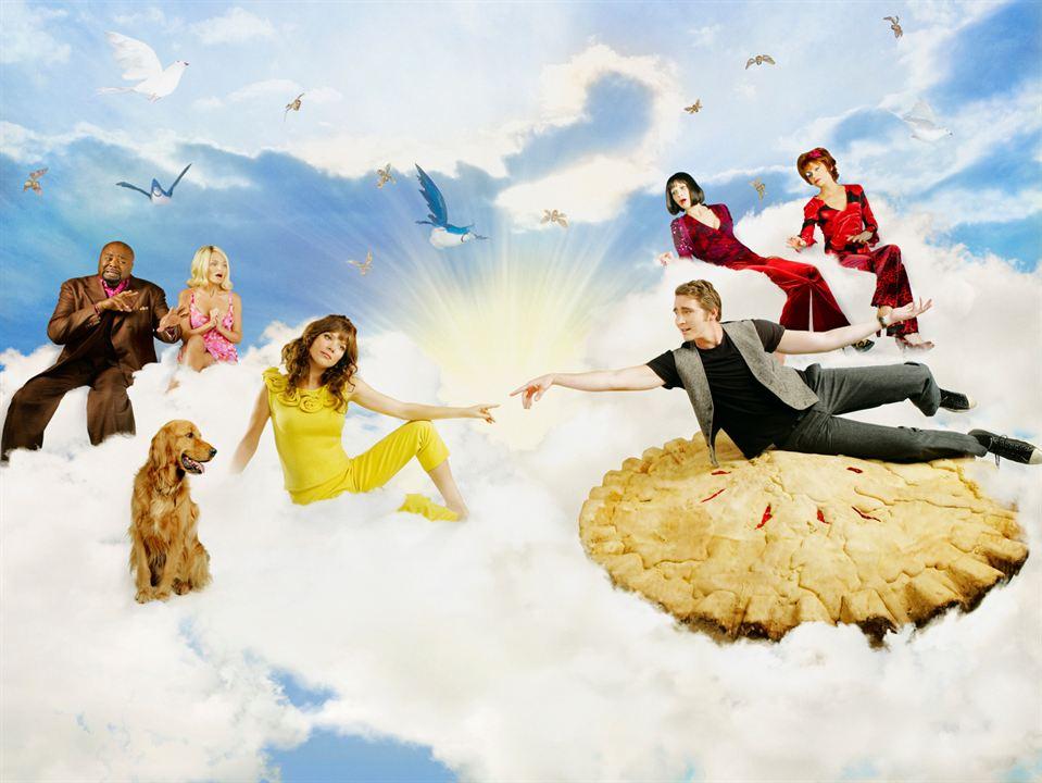 Pushing Daisies : Bild Anna Friel, Chi McBride, Ellen Greene, Kristin Chenoweth, Lee Pace