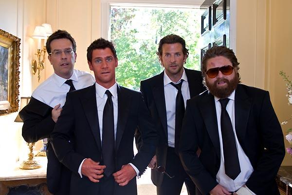 Hangover: Ed Helms, Zach Galifianakis, Justin Bartha, Bradley Cooper