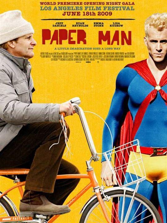 Paper Man - Zeit erwachsen zu werden : Kinoposter Kieran Mulroney