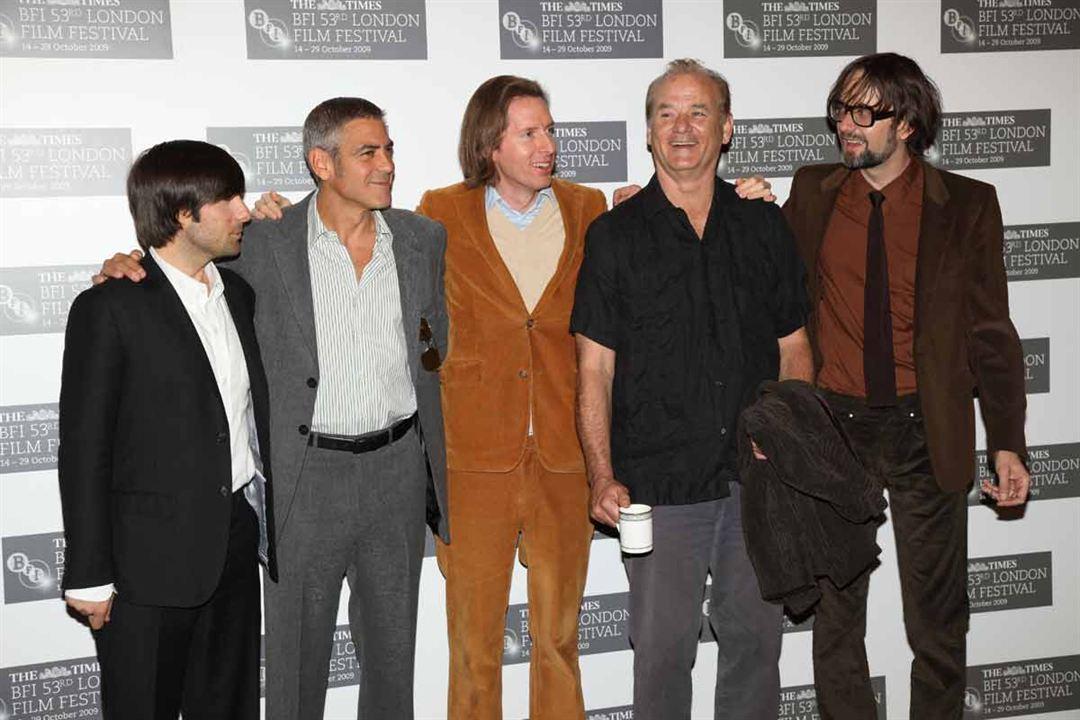 Der fantastische Mr. Fox : Vignette (magazine) Bill Murray, George Clooney, Jarvis Cocker, Jason Schwartzman, Wes Anderson