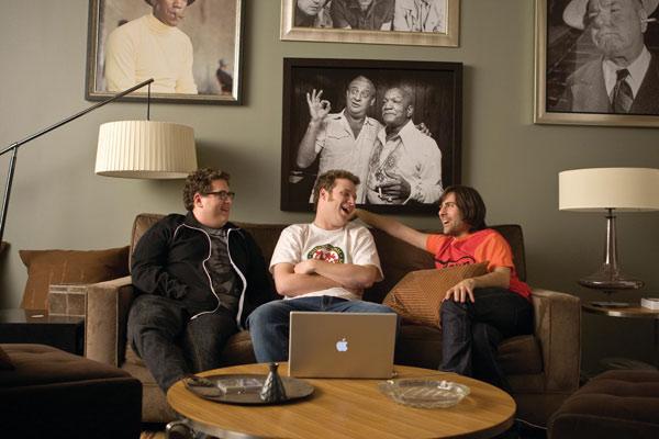 Wie das Leben so spielt : Bild Jason Schwartzman, Jonah Hill, Seth Rogen
