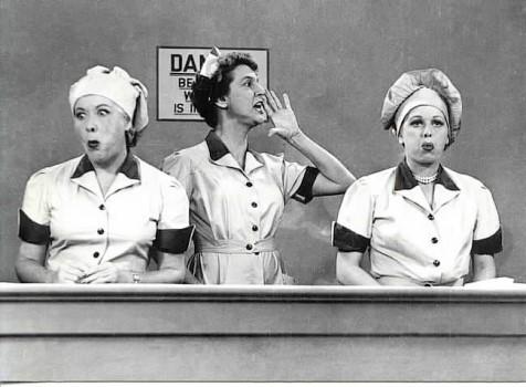 I Love Lucy : Bild Elvia Allman, Lucille Ball