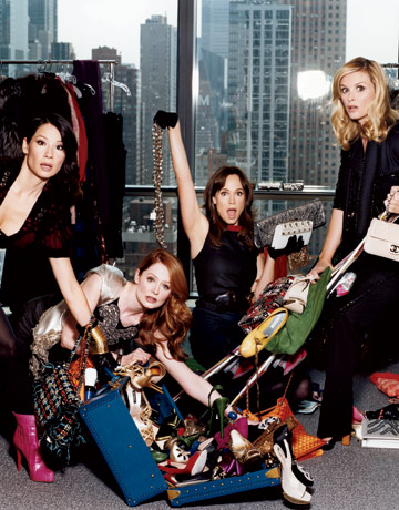 Bild Bonnie Somerville, Frances O'Connor, Lucy Liu, Miranda Otto