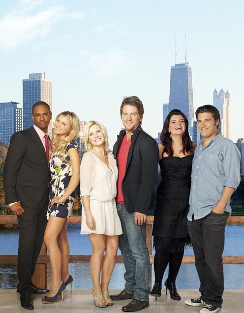 Happy Endings : Bild Adam Pally, Casey Wilson, Damon Wayans Jr., Elisha Cuthbert, Eliza Coupe