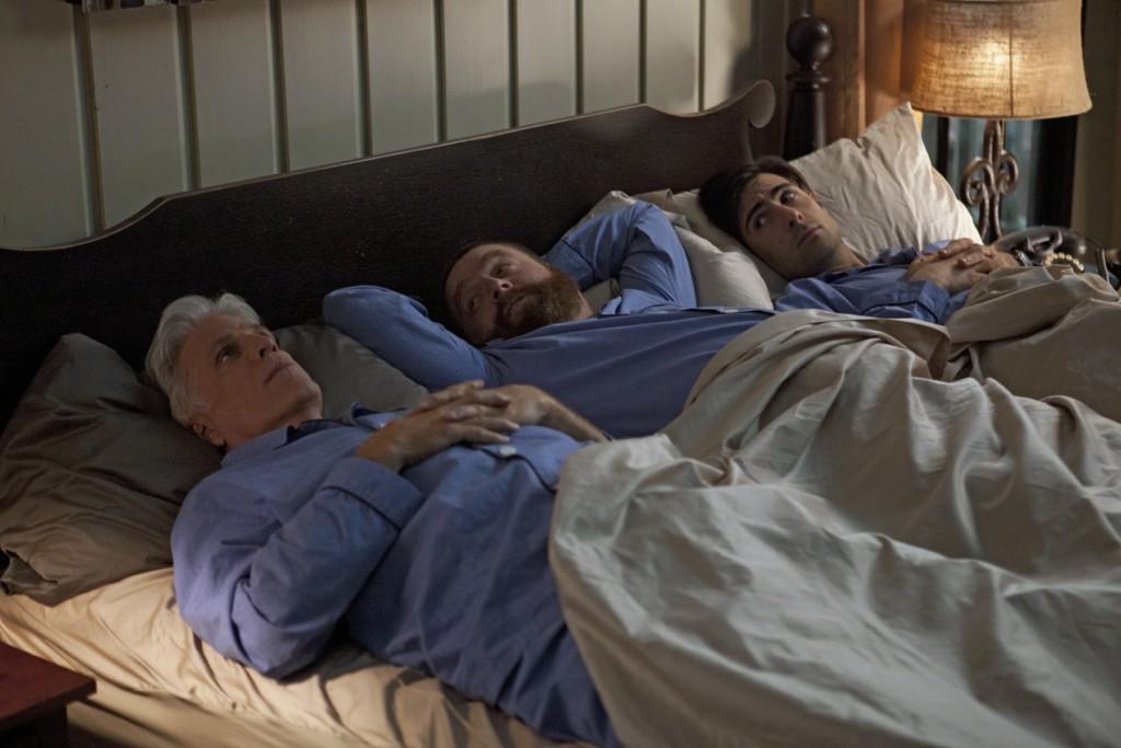Bild Jason Schwartzman, Ted Danson, Zach Galifianakis