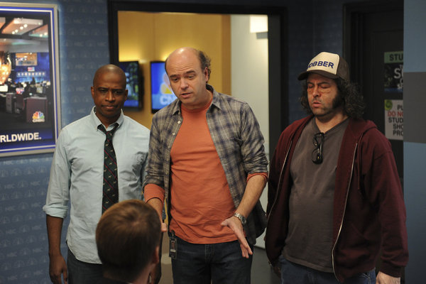 Bild Judah Friedlander, Keith Powell, Scott Adsit