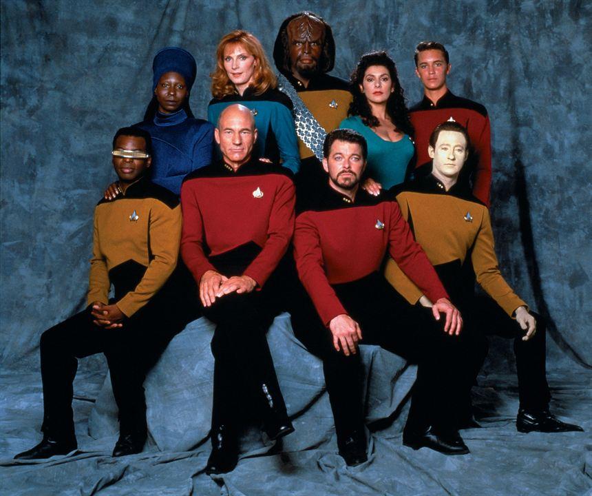 Raumschiff Enterprise: Das nächste Jahrhundert : Bild Brent Spiner, Gates McFadden, Jonathan Frakes, LeVar Burton, Marina Sirtis